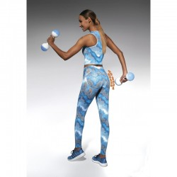 Energy legging sport bleu