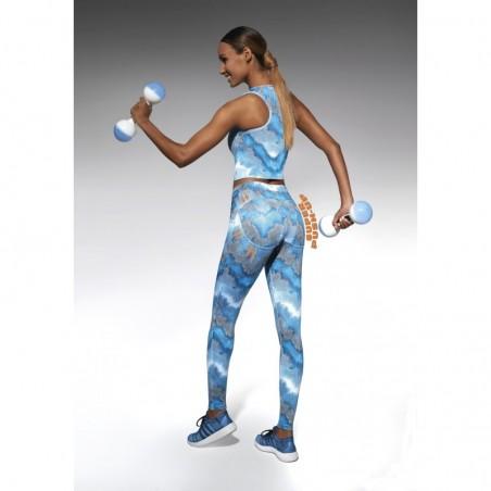 Energy legging sport bleu
