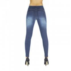 Maddie legging jean bleu clair