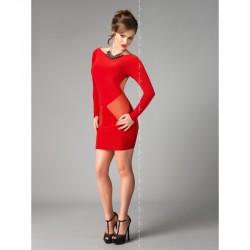 Sophia robe rouge