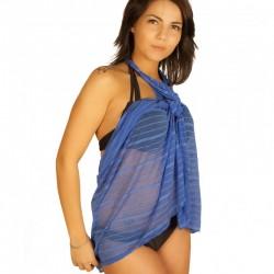 Robe pareo bleu