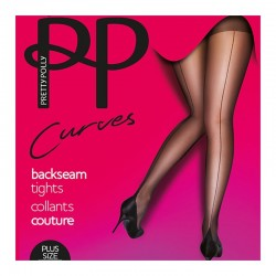 Collants grande taille couture