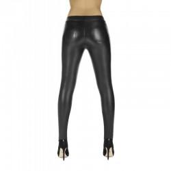 Monique legging noir effet cuir