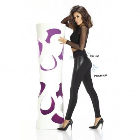 Spencer legging noir taille haute