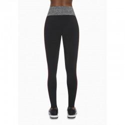 Extreme legging sport noir et rouge