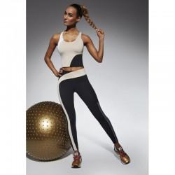 Flow legging sport noir et beige