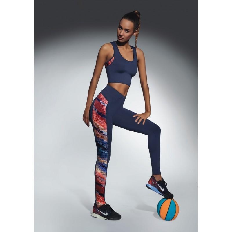 Rainbow legging sport bleu