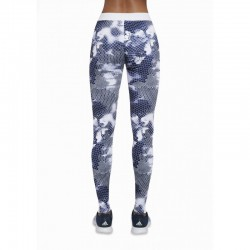 Code legging sport bleu et blanc