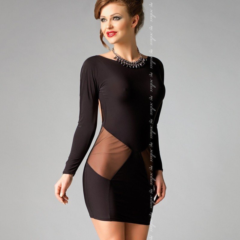 Sophia robe noire
