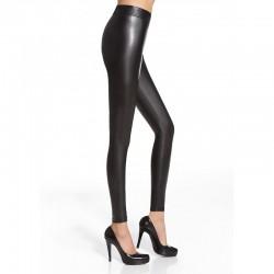 Elen  legging noir effet cuir