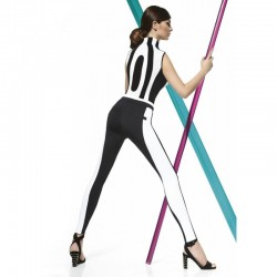 Carmen legging bi-color