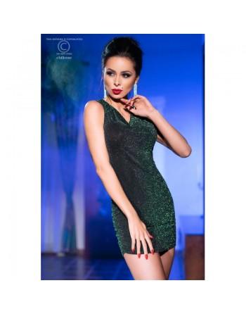 Robe sexy vert