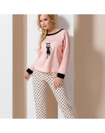 Pyjama chat rose