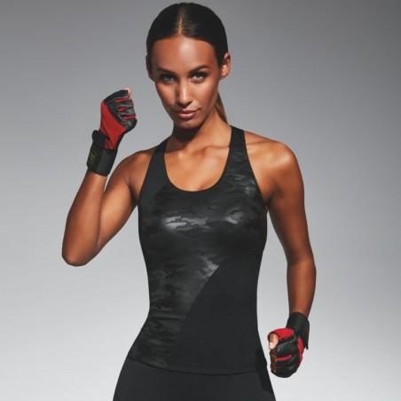 Combat top sport noir