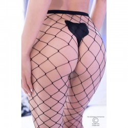 Collants grosse résille - lot de 2