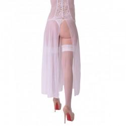 Sara bas couture blancs
